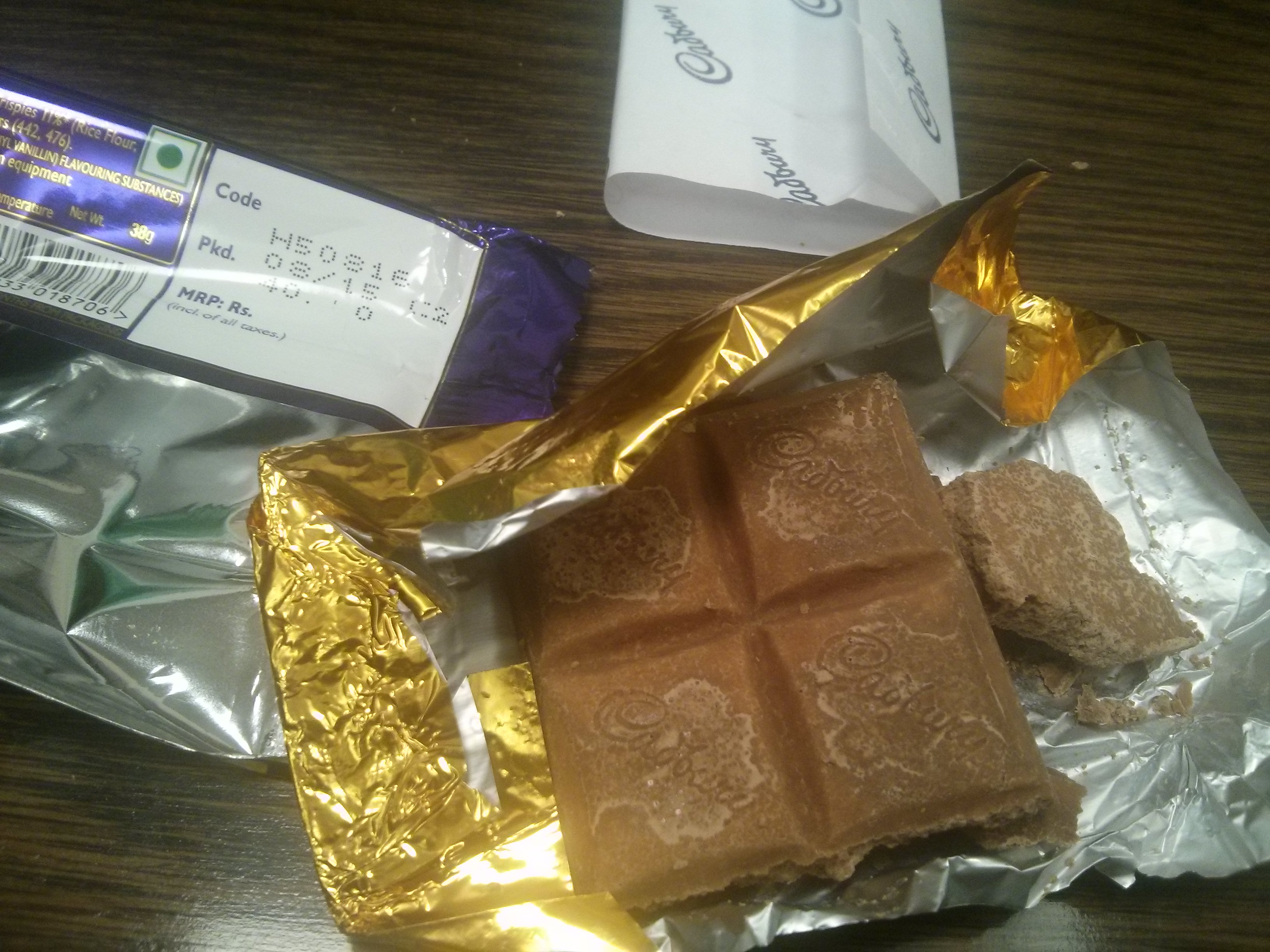 cadbury india 2pm: confectionery giant cadbury's has committed a gaffe of epic proportions after comparing a brand of chocolate to.