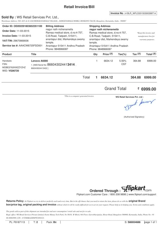 Resolved] Flipkart — Lenovo A6000 Phone heating problem and