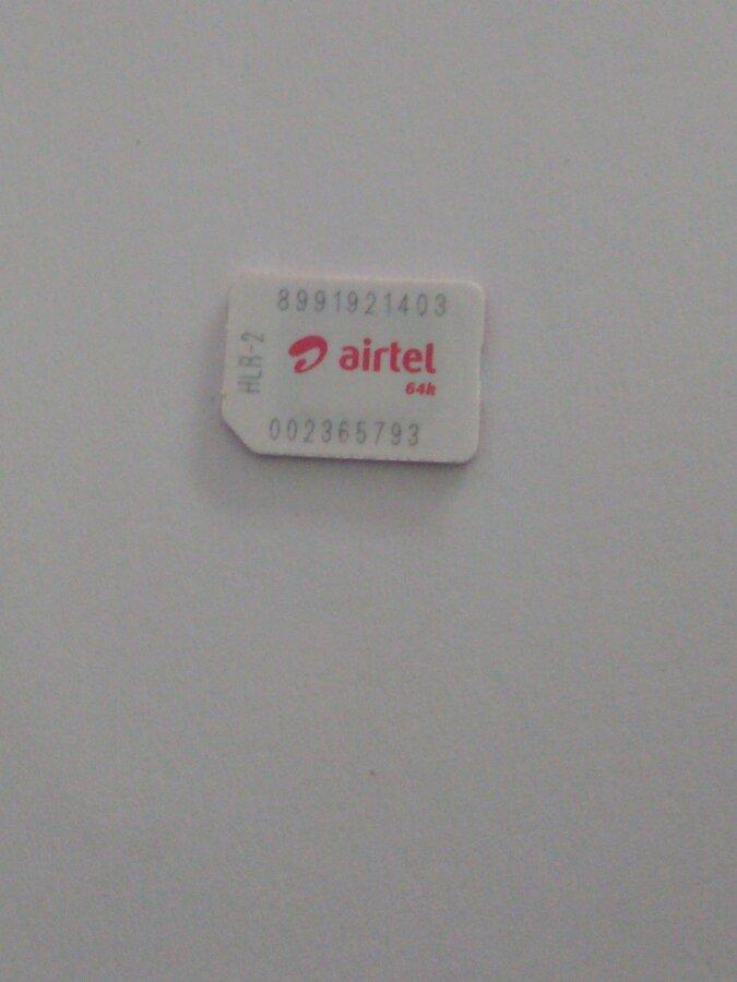 Airtel — 4G SIM CARD ISSUES