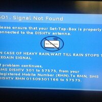 Resolved] Dish TV — Signal not found 301 | 1110178
