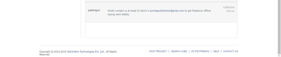 protected]@gmail com — Deepak tripthi - free lancer off line job