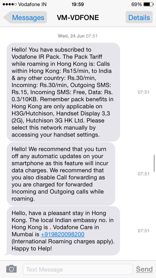Vodafone India — Unauthorized credit charges, unethical behavior