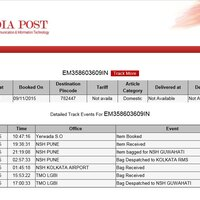 India Post Delay In Delivery For Speed Post
