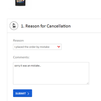 how to cancel order on snapdeal