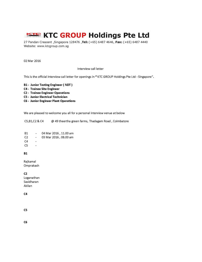 Ktc Group Holdings Pte Ltd — Making fraudulent in the name of the