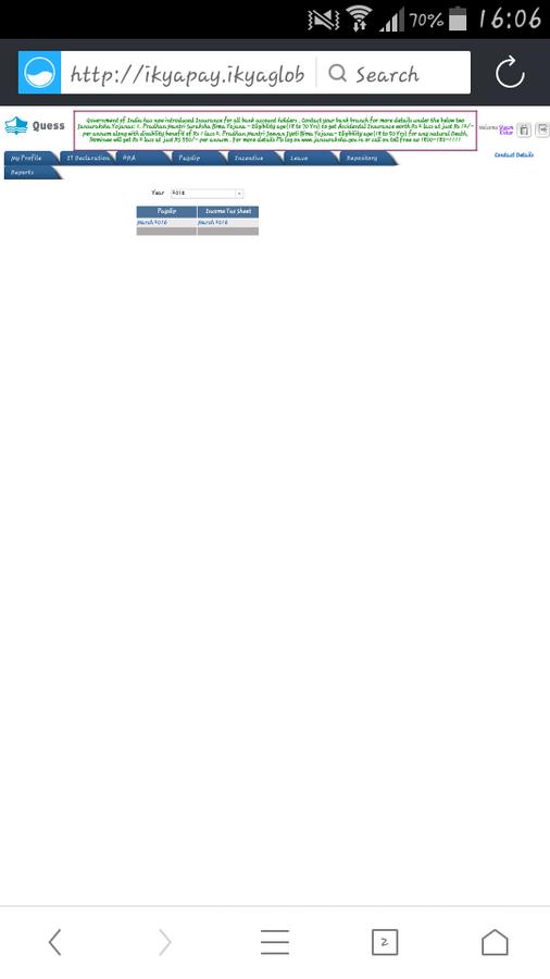 Ikya Human Capital Solutions — Not login to ikya portal
