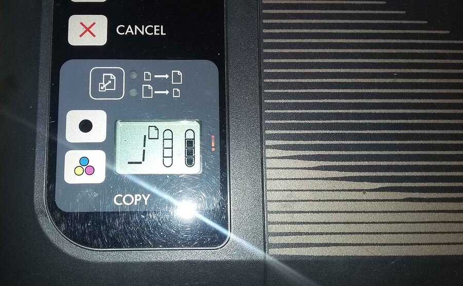 Hp Deskjet Ink Advantage 2520hc — Scanner problem