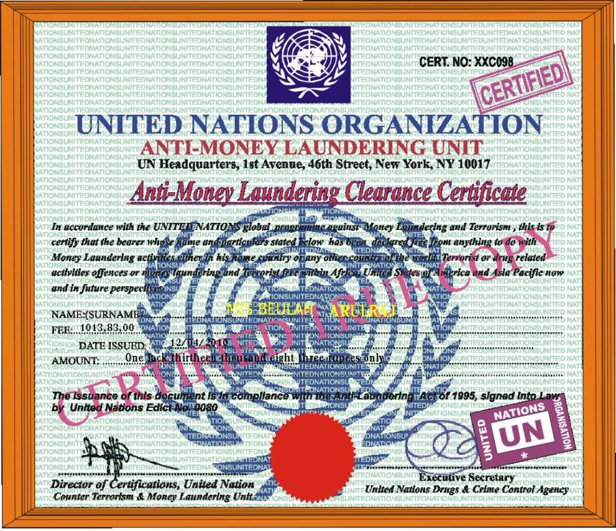 Thread By Rvawonk New Anti Money Laundering: Anti Money Laundering Certification India