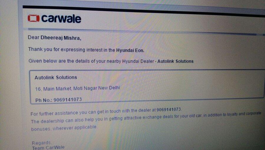 Hyundai Motor India — Pending Refund & Bad Service