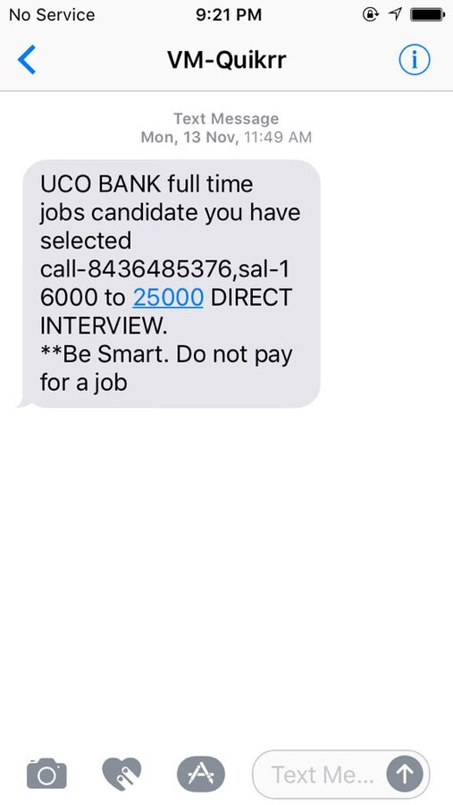 Resolved] Quikr — Quicker job is fake and fraud