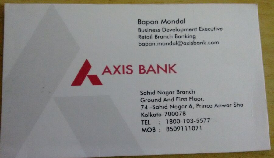 Resolved Axis Bank Without My Consent Additional Debit Card