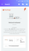 Refund not received