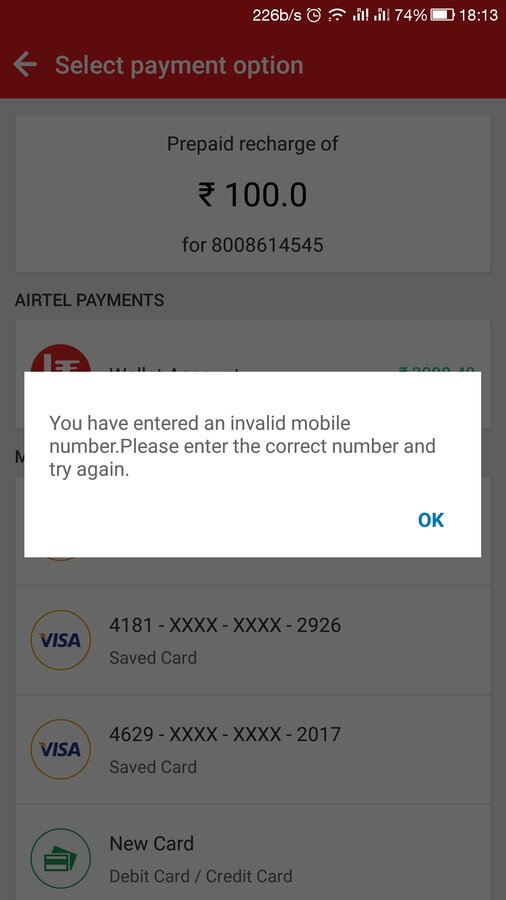 Resolved] Airtel — After Postpaid to prepaid conversion unable to