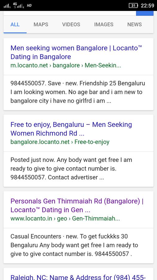 Bangalore dating girl mobile Nummer Dating-Profil lustig