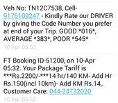Fasttrack Call Taxi — Very poor and rude behaviour of the