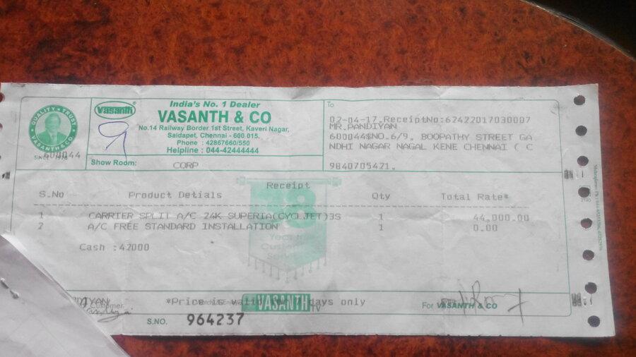 Carrier India Dealer