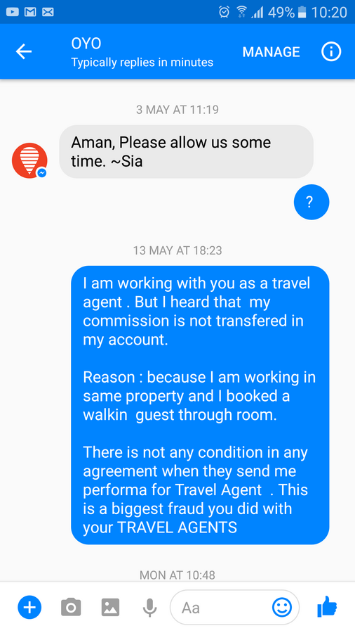 Oyo Is Fraud — Fraud with travel agents and hotel