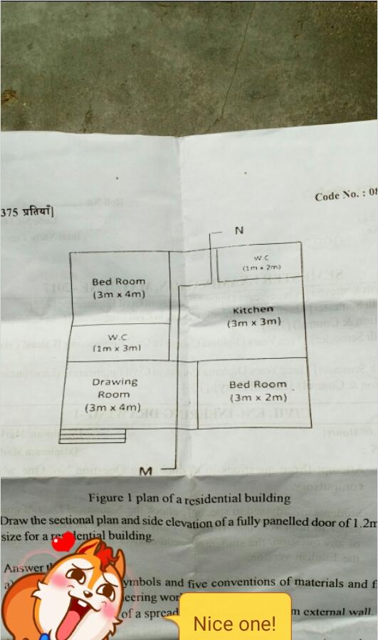 Upbte — Civil engineer/ Civil engineering drawing (C E D )