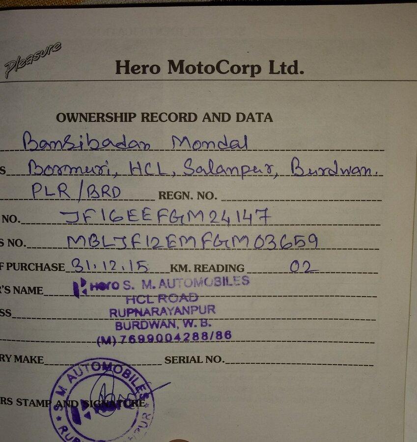 Hero Motocorp — Mileage issue