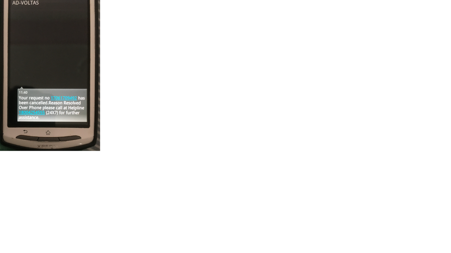 Resolved] Voltas — Voltas 1 5 ton windows ac