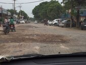 pathetic condition of roads in south city 1