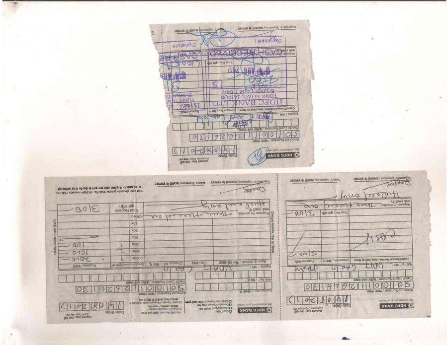 cash deposit form hdfc  Resolved] Hdfc Bank — wrong account cash deposit