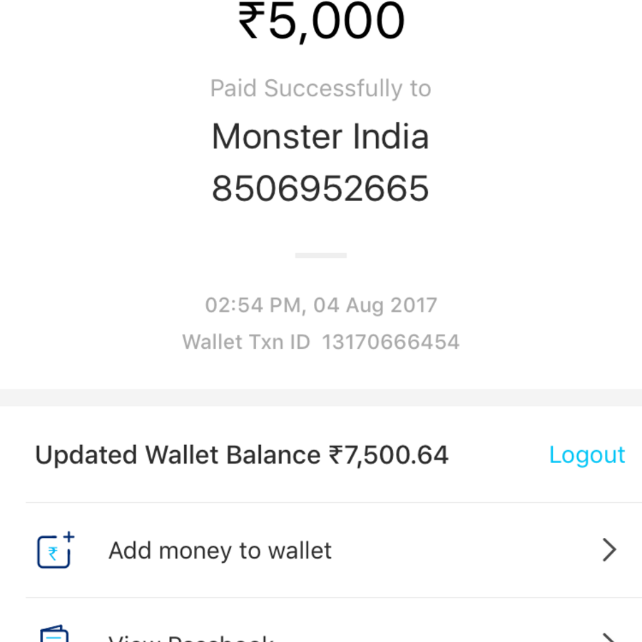 Monsterindia.com Customer Care, Complaints and Reviews