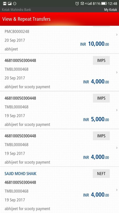 OLX India — fraud and threats of life by a scooty seller