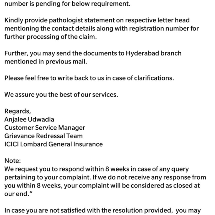 Icici Lombard Motor Insurance Customer Care No
