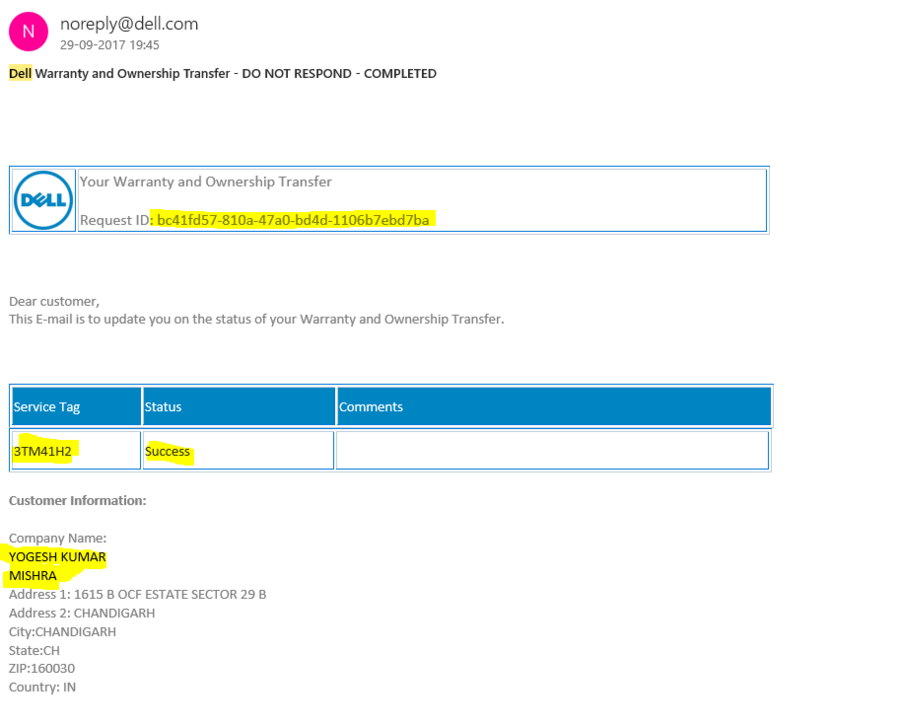 Dell Support India Service Tag ••▷ SFB
