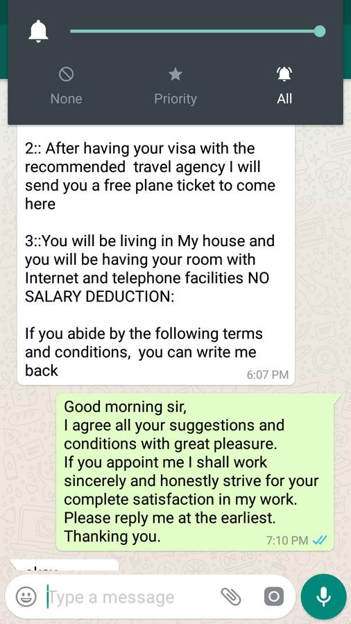 Quikr Free Job