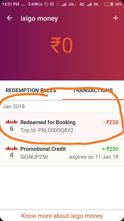 Resolved] Ixigo — ticket is not showing