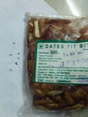 dmart ready order no 1973766- complaint on the received items, which are having black bugs in the packet.