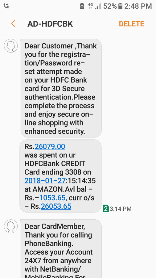 Resolved] Hdfc Bank — credit card fraud