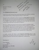 Simplex Infrastructure Ltd — resignation job before 3 but