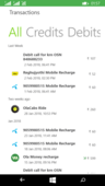 not recharged but amount deducted from my ola account