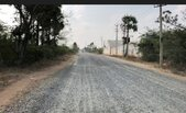 irregular finish of road for upto 3 kms