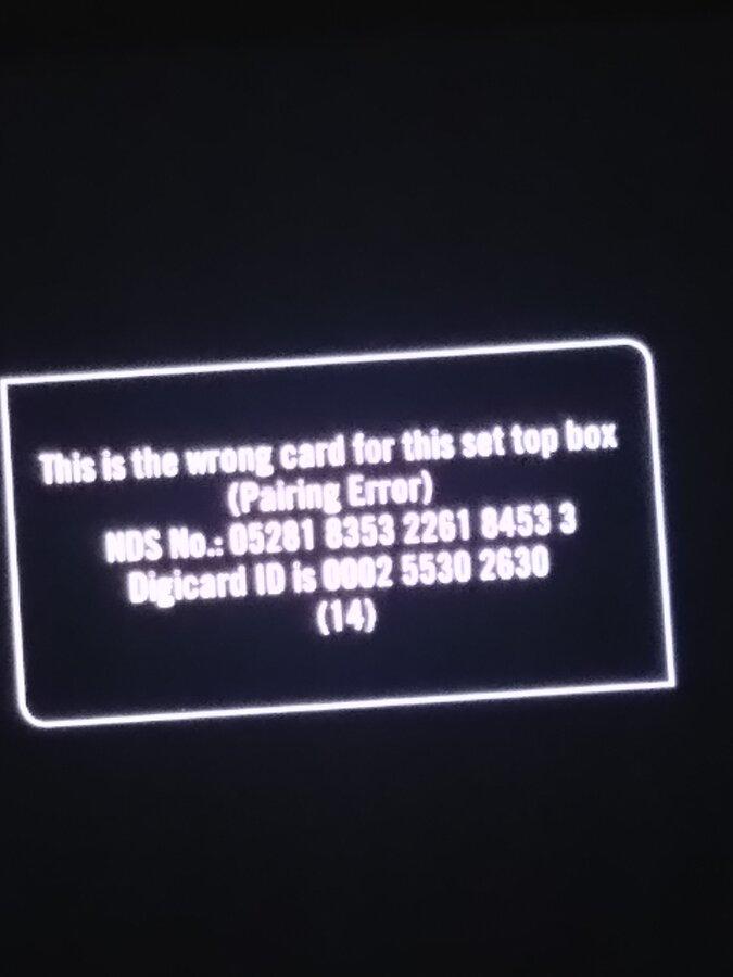 Resolved] Tata Sky — pairing error on my tata sky dth