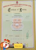 fake certificate distributed