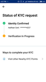kyc verification in progress since more than 3 days