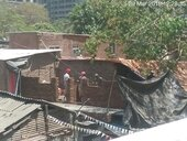 mr. arvind yadav making illegal construction.
