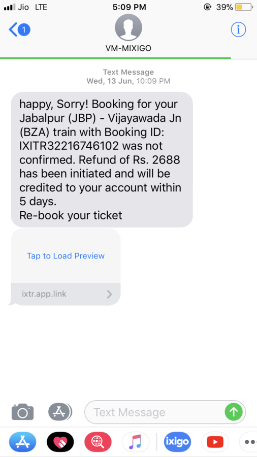 Resolved] Ixigo — money get deducted but tickets booking