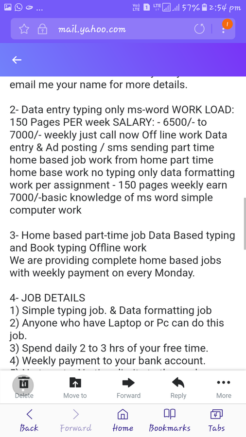 Book Typing Work From Home