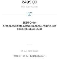Zee Tv — unable to access zee5 premium subscription