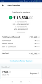 payout of 12500 not received in bank account linked to paytm merchant account