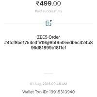 Zee Tv — zee tv unable to access zee5 premium subscription