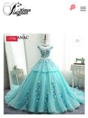 gown - order no 13736