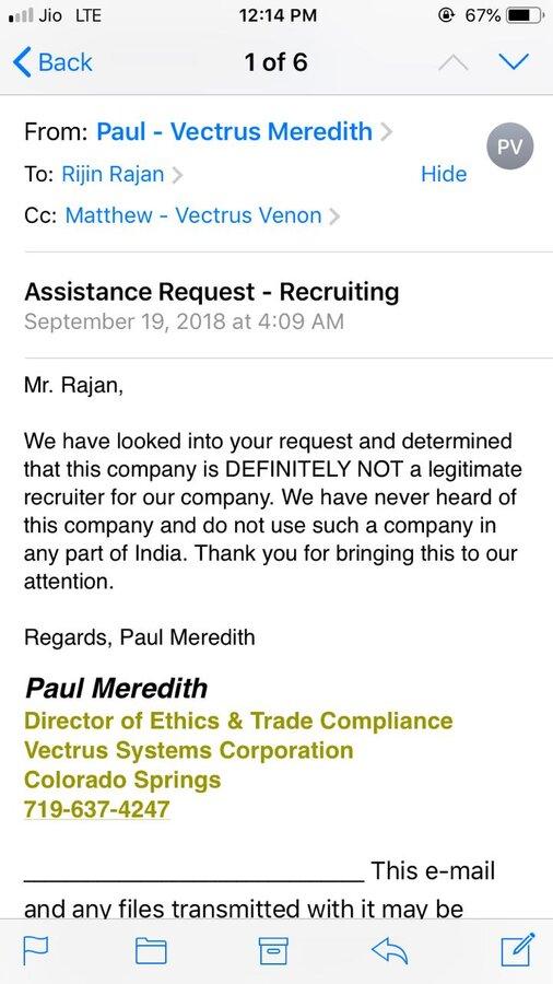 West Shore International — fraud recruitment
