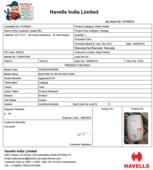 cheated by havells and their dealers