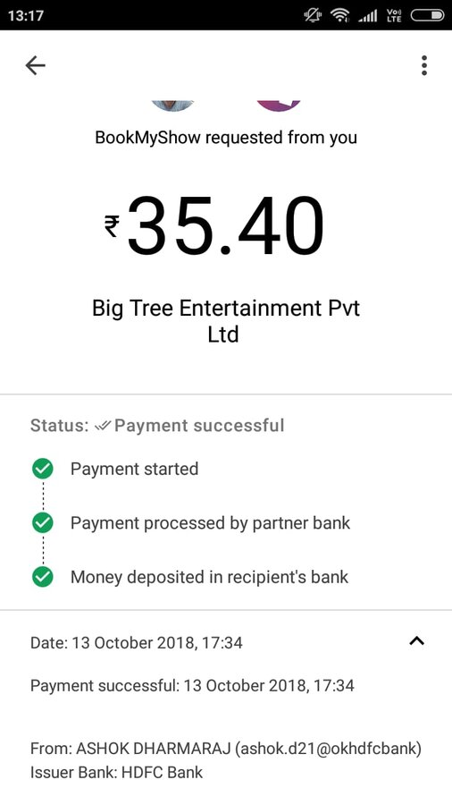 Image result for bookmyshow transaction fees